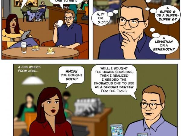 Apple's New iPhone (Comic)